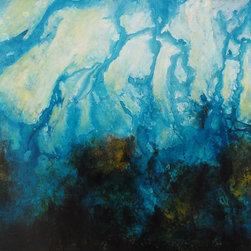 Heather Offord - Water Inspired Artwork, Beautiful Blue Large Art - Before we get into the details I just wanted to say thank you so much for stopping to look at my art!