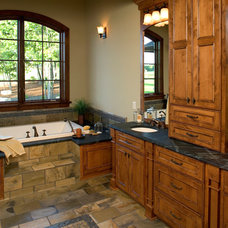 Rustic Bathroom by Copper Creek, LLC