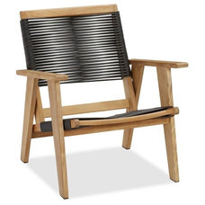 Modern Outdoor Lounge Chairs by Pottery Barn