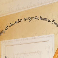 Contemporary Wall Decals by Printing Jay