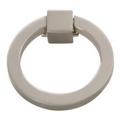 Hickory Hardware - Camarilla Ring Pull (Set of 10) (Satin Nickel) - Finish: Satin Nickel.