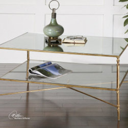 "24276 Henzler, Coffee Table by uttermost - Get 10% discount on your first order. Coupon code: ""houzz"". Order today."