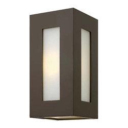 Hinkley Lighting - Hinkley Lighting 2190BZ-GU24 Dorian Bronze Outdoor Wall Sconce - Hinkley Lighting 2190BZ-GU24 Dorian Bronze Outdoor Wall Sconce