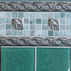 Installation Shots - Virtuoso Collection: Leaf Silvertone Bronze