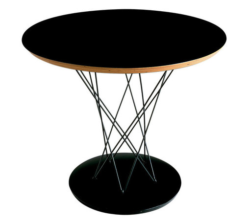 Knoll - Cyclone Side Table - Ever wonder how to bring the calm of the eye of a cyclone to your design? Midcentury modern artist Isamu Noguchi sought to find out, when he experimented with wood and wire to create this stunning table in 1953. The result was this sculptural gem, which will look utterly unique and clean in your living room.