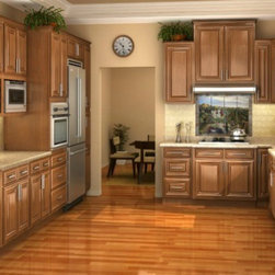"""Majestic Bronze 24x84 Refrigerator Panel With 3"""" Stile Pre-assembled - The Majestic Bronze kitchen cabinet collection offers a casual cool appeal to your home. This collection offers a variety of cabinets and options for beautiful mist glass cabinet door fronts. The quality and beauty will help enhance the value of any home and stand the test of time. Width 24"""" Height 84"""" Depth 0.75"""".  Refrigerator panel that has a 3"""" return. This panel will be finished on one side and the front edge."""