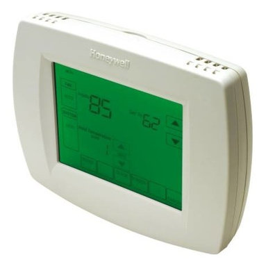 Honeywell - Honeywell Universal Programmable T-Stat 2-Stage Heat/3-Stage Cool - Outdoor temperature indication (select models) shows current outdoor temperature on the display to help you plan outdoor activities