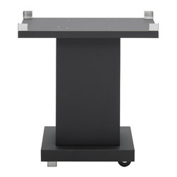 Frontgate - Black Pedestal for TEC G-Sport Grill - Handcrafted of corrosion-resistant 304 stainless steel. 100% infrared energy completely eliminates the hot air that often dries out grilled foods to ensure meats stay tender after cooking and retain up to 35% more of their natural juices. Certified for use on any surface including wood. 309 sq. inch grilling space. 22,000 BTU energy-efficient burner is constructed of stainless steel. The TEC G-Sport Infrared Tabletop Grill is the only full-size grill that can be safely used on wood countertops and other flammable surfaces without fear of fire or damage. It cooks with the speed of 100% infrared energy and distributes heat evenly across the grilling surface, so you can enjoy super-moist, charbroiled taste anytime. . . . . . Electronic push-button ignition. Double-walled prevents discoloration and heat loss. Nonstick 304 stainless steel cooking grates. Self-cleaning surface protects burner and eliminates messy cleanup. Cookware can be placed directly on the cooking grates or radiant glass panel. Includes warming rack (optional) and removable ash tray. View warranty . Made in the USA.