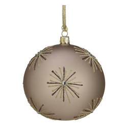 Silk Plants Direct - Silk Plants Direct Starburst Ball Glass Ornament (Pack of 2) - Pack of 2. Silk Plants Direct specializes in manufacturing, design and supply of the most life-like, premium quality artificial plants, trees, flowers, arrangements, topiaries and containers for home, office and commercial use. Our Starburst Ball Glass Ornament includes the following: