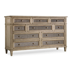 10 Drawer Dresser, Pearl Essence