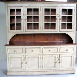 Custom China Cabinet Hutch