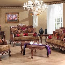 Grand Luxe - Luxury Living Room Sofa Set - 3 Pieces -