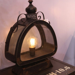 Antique Wind Wall Sconce and Lamp -