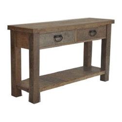 ARTeFAC - RV-5684 Natural Look Console Table - RV-5684 Natural Look Console Table