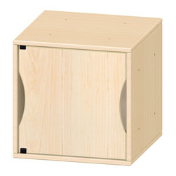 Jonti-Craft - Pod with Solid Door Front - Dual sided colors (reversible). Door can open left or right. Fits Single Pod.