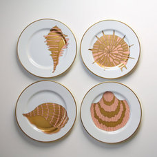 Tropical Salad And Dessert Plates by Etsy