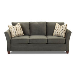Savvy - Murano Sofa in Belsire Pewter - Murano Sofa in Belsire Pewter