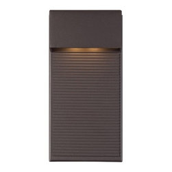 WAC Modern Forms - WAC Modern Forms | Hiline 12in Outdoor Wall Light - Design by Modern Forms.The Hiline 12 Inch Outdoor Wall Light features a sealed LED housing and clean, versatile Dark Sky and ADA compliant design. The Hiline collection is ideal for showing off multi-tiered decks, stone patios or illuminating entry ways.