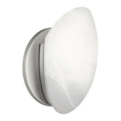 Kichler - Kichler No Family Association Wall Sconce in Brushed Nickel - Shown in picture: Wall Sconce 1-Light Fluorescent in Brushed Nickel