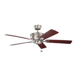 "Kichler - Kichler 300178AP Duvall 52"" Indoor Ceiling Fan with 5 Blades - w/4"" Downrod - Kichler 300178 Duvall Ceilng Fan"