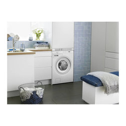 Asko 2.12 Cu. Ft. Family Size Front Load Washer, White | W6424W - 10 WASH PROGRAMS