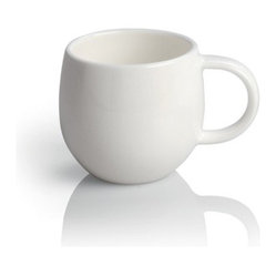 "Alessi - Alessi ""All-Time"" Teacup, Set of 4 - Keep it classic! This set of four cups, designed by Guido Venturini, lend a smooth, stylish simplicity to your table and make everyday meals a more casual pleasure."