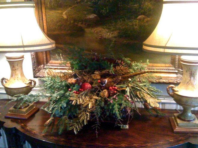 Traditional  Atlanta Holiday House 2009