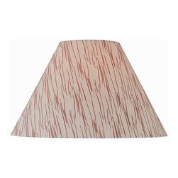 Lite Source - Patterned Fabric Shade - 7Tx18Bx12Sl - Patterned Fabric Shade - 7Tx18Bx12Sl