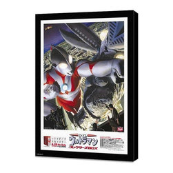 Ultraman: A Special Effects Fantasy Series 27 x 40 Movie Poster - Japanese Style - Ultraman: A Special Effects Fantasy Series 27 x 40 Movie Poster - Japanese Style A - Museum Wrapped Canvas. Amazing movie poster, comes ready to hang, stretched on canvas museum wrap canvas with color sides. Cast: