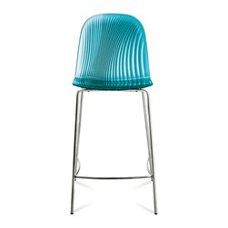 Domitalia - Playa-SGB Stool, Transparent Blue - Stool