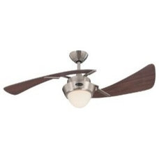 Westinghouse Lighting 7214100 Harmony Two-Light 48-Inch Two-Blade Indoor Ceiling