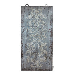 Koenig Collection - Old World Mediterranean Wall Art Panels, Royal Grey - Old World Mediterranean Wall Art Panels
