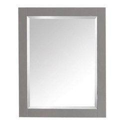 Avanity - Avanity 24 in. Mirror for Brooks / Modero / Tribeca - Avanity 24 in. Mirror for Brooks / Modero / Tribeca in Chilled Gray finish