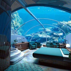 Tropical Bedroom Deep sea