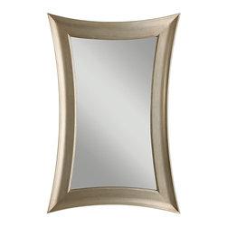 Murray Feiss - Murray Feiss MR1122ASLF Georgette Antique Silver Leaf Mirror - Murray Feiss MR1122ASLF Georgette Antique Silver Leaf Mirror