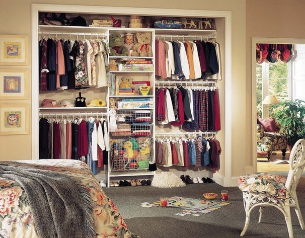 Closet Organizers by Tailored Living featuring PremierGarage