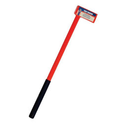 "Ames/True Temper - 1113090800 12# Licksplit Maul - LICKETY SPLITTER WOOD MAUL  Made in America steel wood splitting maul  All steel construction  34"" steel handle with rubber grip  Ideal for chopping or splitting wood  Meets or exceeds ASME standards          1113090800 12# LICKSPLIT MAUL  SIZE:12 Lb."