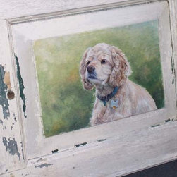 Pet Portraits - Old Shutters Are In Stock And Are Available In Multiple Colors And Sizes. Call For More Information And Quote. www.lakeandmountainhome.com