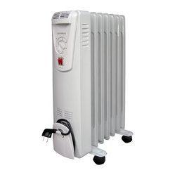 3-Heat Portable Oil-Filled Radiator