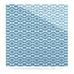 "Kess InHouse - Empire Ruhl ""Blue Circle Abstract"" Navy Geometric Metal Luxe Panel (10"" x 10"") - Our luxe KESS InHouse art panels are the perfect addition to your super fab living room, dining room, bedroom or bathroom. Heck, we have customers that have them in their sunrooms. These items are the art equivalent to flat screens. They offer a bright splash of color in a sleek and elegant way. They are available in square and rectangle sizes. Comes with a shadow mount for an even sleeker finish. By infusing the dyes of the artwork directly onto specially coated metal panels, the artwork is extremely durable and will showcase the exceptional detail. Use them together to make large art installations or showcase them individually. Our KESS InHouse Art Panels will jump off your walls. We can't wait to see what our interior design savvy clients will come up with next."