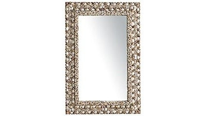 Eclectic Mirrors Shell Mirror