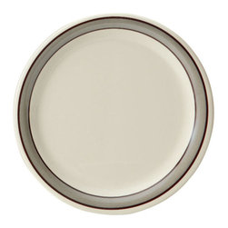 Get Melamine - Diamond Cambridge 6.5 inch Narrow Rim Plate - Case of 48 - Descriptions6.5 inch Narrow Rim Plate