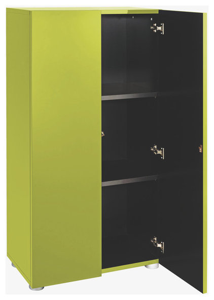contemporary bookcases cabinets and computer armoires by Habitat