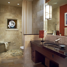 Contemporary Bathroom by Harrell Remodeling