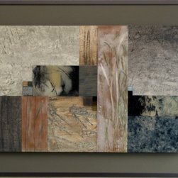 Mixed Media Assemblage 163 by Laura Fields -