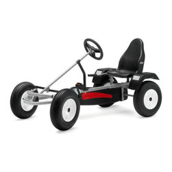 Berg USA - Berg USA Extra AF Pedal Go Kart - Black - 03.35.82.00 - Shop for Go Karts from Hayneedle.com! The BERG Extra AF Riding Toy is a modern classic ready to provide hours of entertainment to kids five years and older. Including features like protection from splashing mud as you're conquering rough terrain and a swing axle too keep your wheels on the ground when the road gets bumpy the BERG Extra AF Riding Toy will be the perfect vehicle for the adventurous kid in your life. An adjustable seat ensures comfort throughout that adventure and a dual wheel rear hand brake ensures a safe pause in case life gets too adventuresome.About BERG USAFounded in 2010 BERG USA is quickly becoming a recognized name in children's riding toys with their innovative designs and attention to safety that don't get in the way of their dedication to providing outdoor exercise for both kids and adults. BERG USA designs and offers a wide variety of high-quality pedal go-karts for home or commercial use ranging in size to comfortably accommodate ages 2 through adult as well as their versatile line of MOOV construction kits.