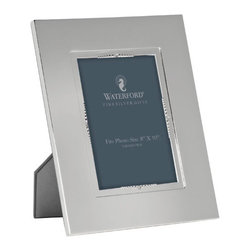 """Waterford - Waterford Lismore Bead Silver Frame 8"""" x 10"""" - Waterford Lismore Bead Silver Frame 8"""" x 10"""""""