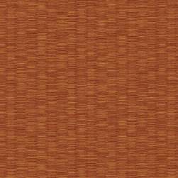 Warner - Nl58244 Woven Rattan Faux Grasscloth Wallpaper - NL58244 Woven Rattan from Natural Living by Kathy Ireland is a rust faux grasscloth wallpaper.