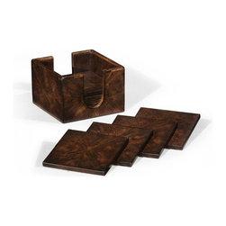 Jonathan Charles - Jonathan Charles Coaster Box Walnut - Item #: JC-1171