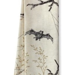 Printed Halloween Towels - Add a little spook to your kitchen with these printed Halloween towels.